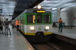 peron stacji Warszawa Śródmieście