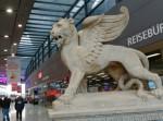 Lew św Marka na Wien Hauptbahnhof