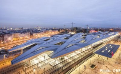 Wiedeń Hauptbahnhof