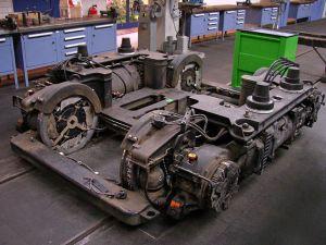 Wózek tramwajowy Siemens Combino