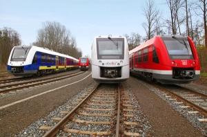 pociągi Coradia firmy Alstom