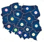 mapa stojaków rowerowych