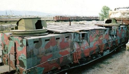 "Wagon pociągu pancernego ""Bajkał"""