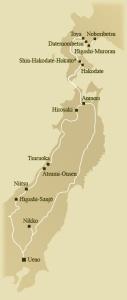 Trasa pociągu Shiki-shima