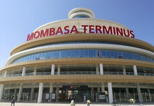 Mombasa, Kenia: nowy dworzec kolejowy