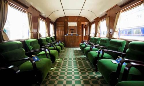 Portugalski pociąg prezydencki - wagon salonowy
