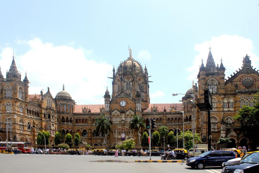 Chhatrapati Shivaji Terminus, Mumbaj (Bombaj)