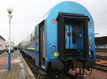 wagon sypialny typu 61-7034, zaprojektowany przez KVSZ i PESĘ