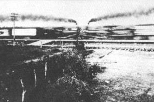 Zderzenie pociągów w Crush (Teksas, USA), 15 września 1896