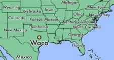 miasto Waco w stanie Teksas