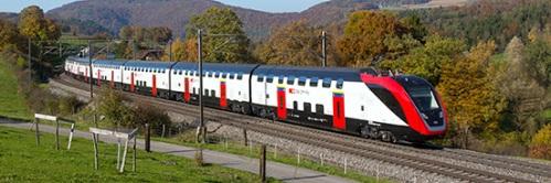 Szwajcarski pociąg dalekobieżny