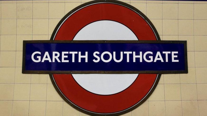 Stacja Southgate przemianowana na Gareth Southgate