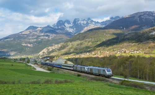 pociąg Paryż-Briancon