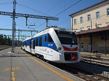Pociąg Lublana-Triest