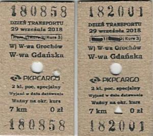 bilety na pociąg specjalny Warszawa Gadańsak - Warszawa Grochów