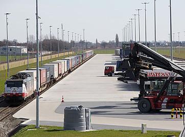 kontenerowy terminal intermodalny