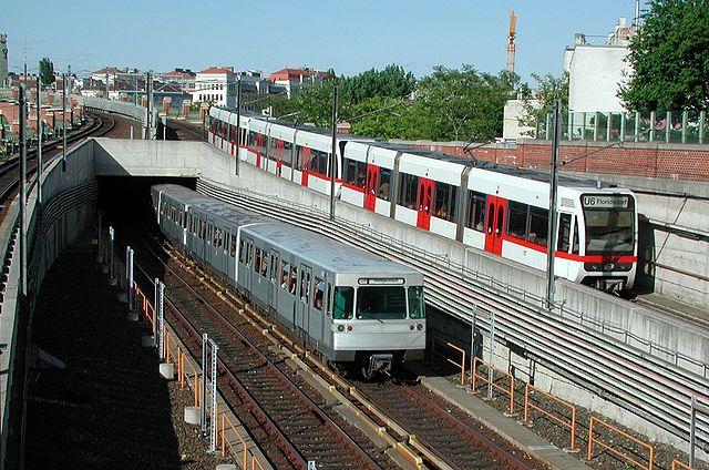 Wiedeń, stacja metra Laengenfeldgasse