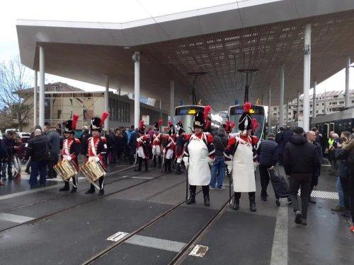 Otwarcie transgranicznej linii tramwajowej z Genewy do Annemasse