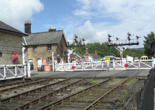 stacja Grossmont: przejazd kolejowy