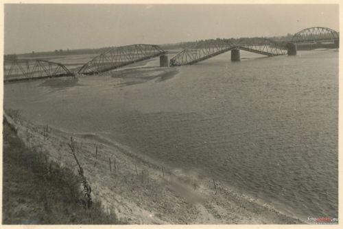 Most na Narwli 1940 rok