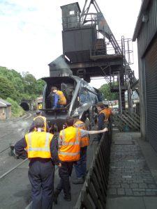w lokomotywowni