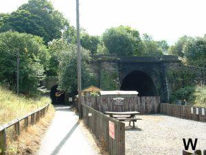Tunele przy stacji Grosmont