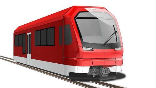 pociąg Orion dla Matterhorn Gotthard Bahn