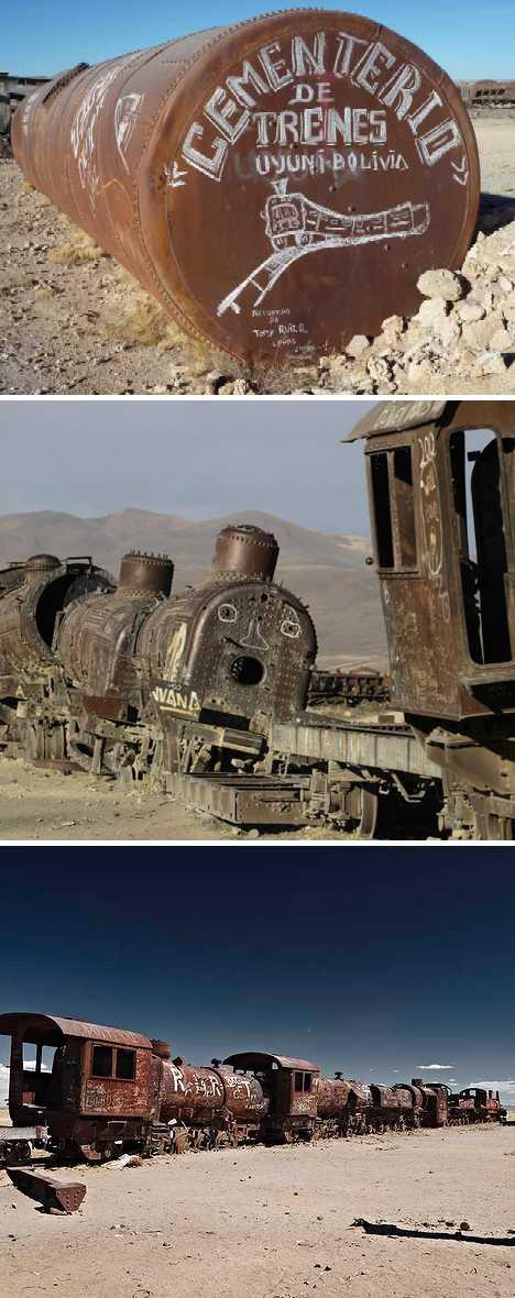 centrarzyski pocigow, Uyuni, Boliwia