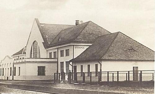 Stołpce dworzec