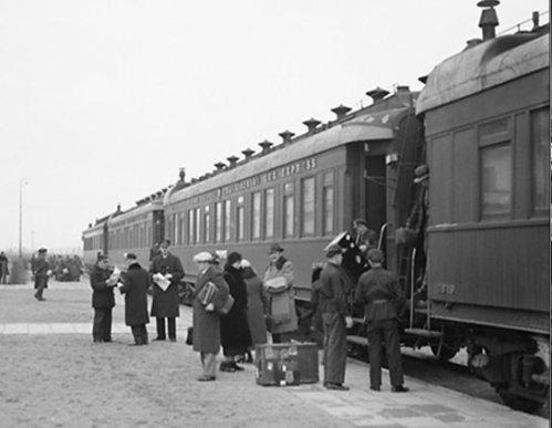 pociąg Express mandżurski