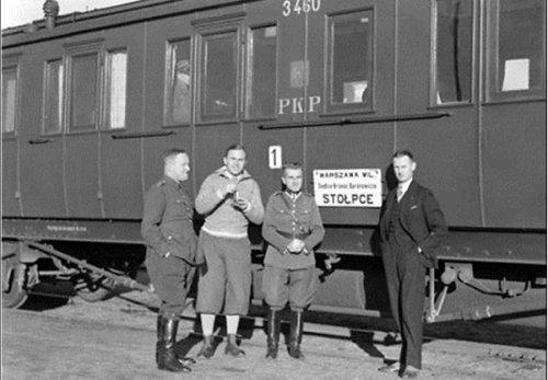 pociąg Stołpce-Warszawa