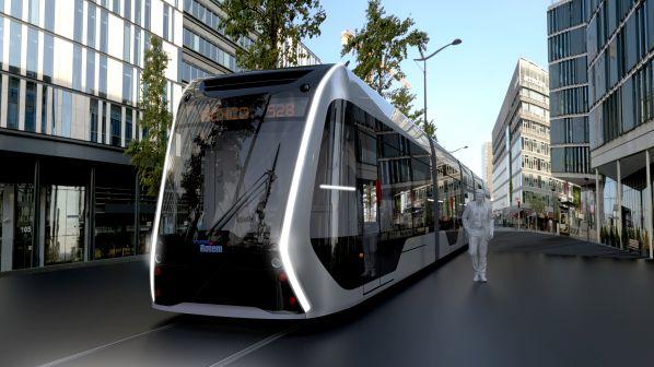 prototypowy tramwaj wodorowy produkcji Hyundai Rotem