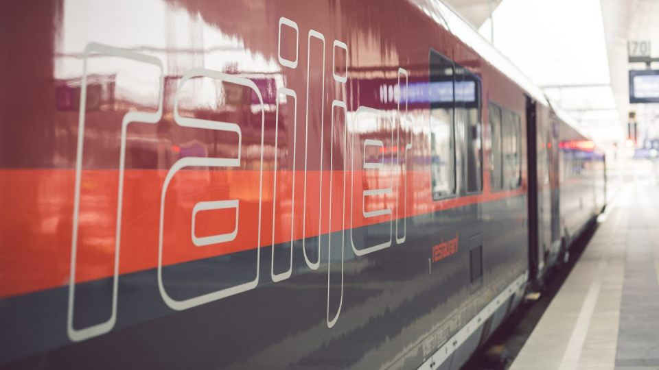 austriacki pociąg AIRail