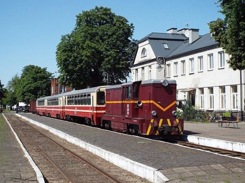 Stacja Piaseczno Wąskotorowe