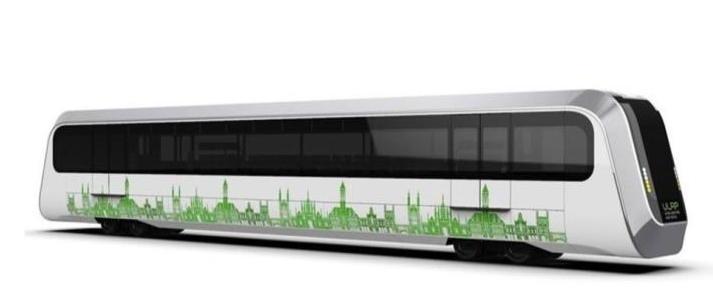 wizualizacja wagonu z napędem metanowym