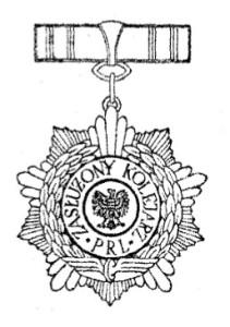 Odznaka zasłużonego kolejarza PRL