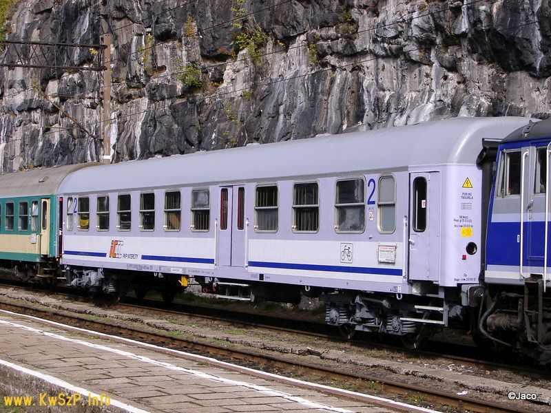 wagon typu 609A do przewozu rowerów,  przed modernizacją