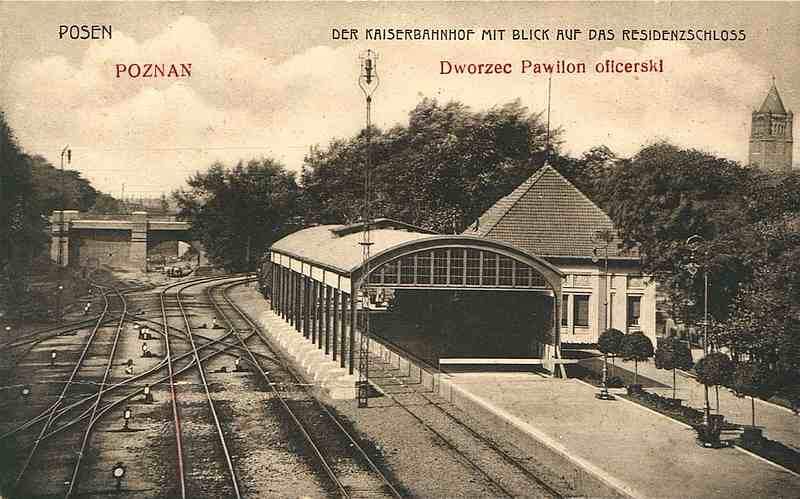 Poznań Dworzec Letni / Posen Kaiserbahnhof
